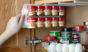 kitchen spice storage ideas 27 spice rack ideas for small kitchen and pantry thefischerhouse