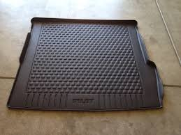 honda pilot all weather mats 2011 honda pilot cargo mat cargo cover and all season floor mats