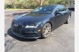 audi a7 for sale in florida used audi a7 for sale in fl edmunds