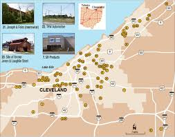 Joseph Oregon Map by Cleveland Hard Hit By Factory Closings Since 1960 The Blade
