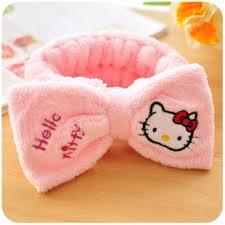 hello headband hello wash headband bow headband beauty makeup mask hair towel turban headband jpg
