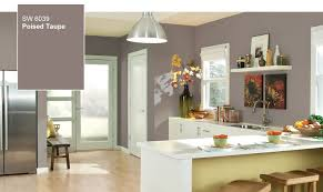 kitchen wall colors 2017 poised taupe in the kitchen
