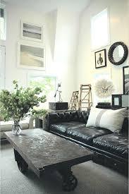 Black Leather Sofa Interior Design Living Room Ideas With Black Leather Sofa Coma Frique Studio