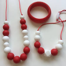 and me necklace silicone jewellery teethers jambu jubilee mummy me