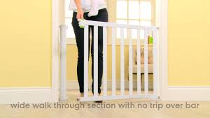 Baby Gates For Stairs No Drilling Mothercare Blokit Safety Gate Youtube