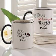 wedding gift mugs someone should buy these for a gift i need them wedding ideas
