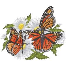 monarch butterfly designs for embroidery machines