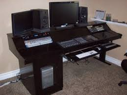Building A Recording Studio Desk by Modern Simple Building My New Studio Desk Gearslutz Pro Audio