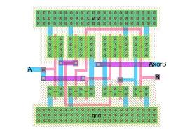 layout design cmos lab6 designing nand nor and xor gates for use to design full adders