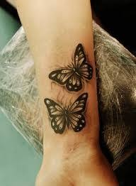 butterfly tattoos for ankle inspiration best