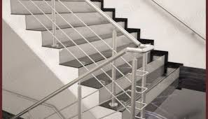 Stainless Steel Stairs Design Stainless Steel Stair Railing Design Installing Stainless Steel