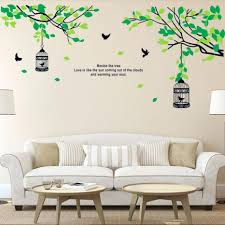 articles with vinyl wall decor quotes tag awesome sticker wall 127 stupendous tree branches birdcage birds wall decals for living room bedroom removable wall stickers murals