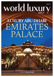 Sayad Seafood Restaurant In Abu Dhabi Emirates Palace World Luxury Daily No 32 Emirates Palace By World Luxury Media