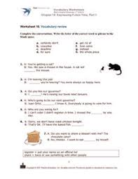 vocabulary worksheets basic english grammar 3rd edition chapter 10