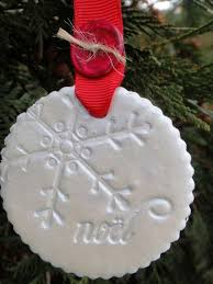 sted clay ornaments