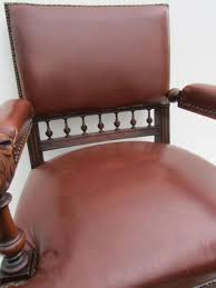 antique dutch carved oak lion head arm chair for sale at pamono