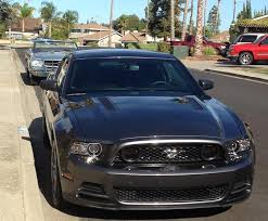 2010 Mustang Gt Black American Muscle Graphics Mustang Smoked Fog Light Tint 26339 13