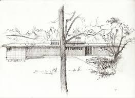 Frank Lloyd Wright Usonian Floor Plans Hand Drawings By Andrew Peppin At Coroflot Com