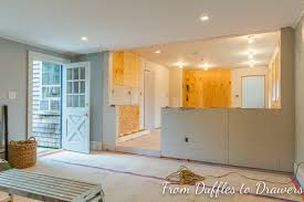 Kitchen Half Wall Ideas From Duffles To Drawers Life Without A Kitchen