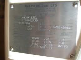 8 3 sqm ralph coidan heat exchanger 210003 for sale