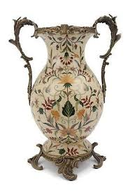 Brass Vase Value Elegant French Chinoiserie Porcelain Vase With Brass Ormolu