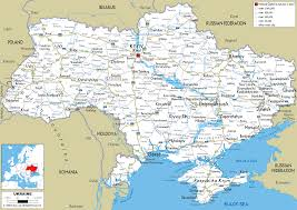 map ukraine detailed clear large road map of ukraine ezilon maps