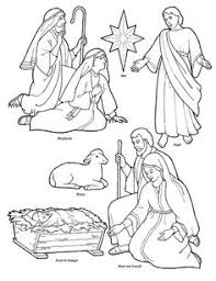 manger christmas coloring pages free printable coloring pages