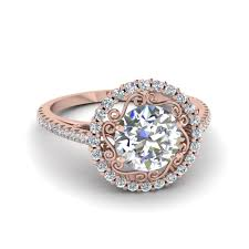 circle engagement ring with halo affordable halo engagement rings fascinating diamonds