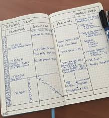 Bullet Journaling by Monthly Log Inspiration Bullet Journal
