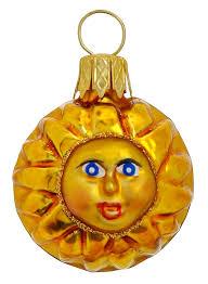 mini and small glass ornaments