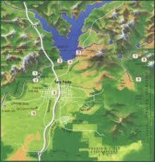 Twin Peaks Map твин пикс David Lynch Info