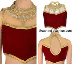 net blouse pattern 2015 cut out back neck blouse designs blouse and more pinterest
