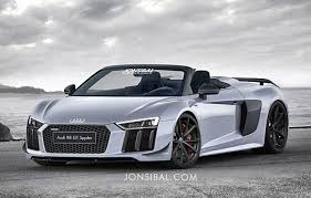 second generation audi r8 second generation audi r8 gt spyder rendered