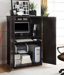 Computer Desk Cabinets Hideaway Furniture Beautiful Armoire Desk Collection For Interior Design