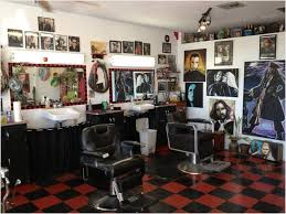 Small Hair Salon Modern White Barber Shop Design Ideas Home Design Ideas