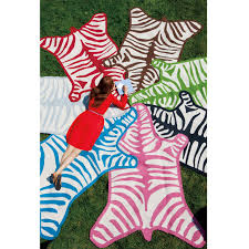 Weave Rugs Zebra Peruvian Llama Flat Weave Rug Modern Rugs Jonathan Adler