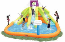 Backyard Water Slide Inflatable by Kids U0027 Sprinklers U0026 Water Slides Inflatable U0026 Slip U0027n Slide