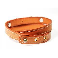 leather cuff wrap bracelet images Swarovski crystal studs camel stitch leather cuff wrap bracelet jpg