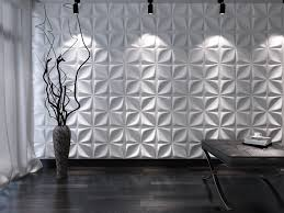 geometric wall mural great living room with white sofa and