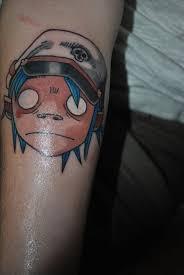 27 best gorillaz tattoo images on pinterest gorillaz aunt and