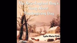 the new boy s song about thanksgiving day by lydia