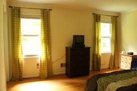 Properly Hanging Curtains The Handcrafted Life Window Balancing Master Bedroom Curtains