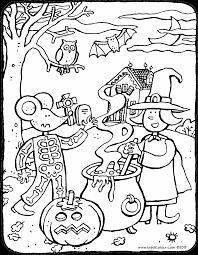 halloween emma thomas kiddi kleurprenten