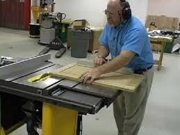 dewalt table saw dw746 dewalt sliding tablesaw accesory finewoodworking