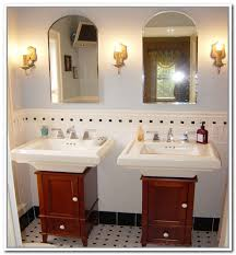 storage ideas for bathroom with pedestal sink fancy diy pedestal sink storage under sink storage for pedestal