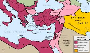 Map Of Syria Google Search Maps Pinterest by Map Of All The Places Mentioned In Acts 2 7 11 Maps Pinterest