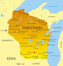 Map Wisconsin Dells by Wisconsin Map Blank Political Wisconsin Map With Cities
