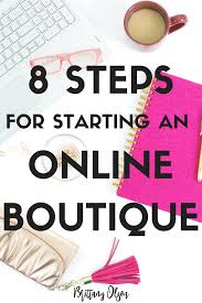 online boutique how to start an online boutique