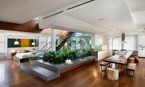 Loft Apartment Design by Russian Minimalist Apartment Decolieu Studio Design Staircase