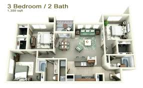 three bedroom flat floor plan three bedroom home plans ipbworks com